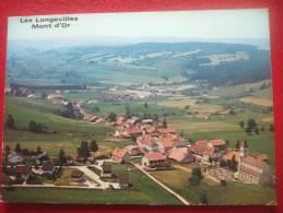 25 - LES LONGEVillES MONT D´OR ( Doubs ) - Alt 1065 à 1463 M  - VUE GENERALE - France