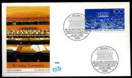 22194) BRD - Michel 1422 - FDC - Europarat - Wert: 1,60 Mi€ - BRD