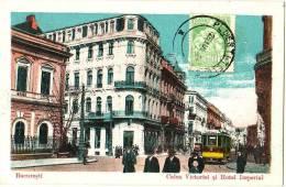 Bucuresti - Calea Victoriei Si Hotel Imperial - & Tram - Romania