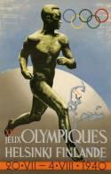 @@@ MAGNET - XIIe Jeux Olympiques Helsinki Finlande 1940 - Reclame