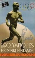 @@@ MAGNET - XVes Jeux Olympiques, Helsinki Finlande 1952 - Reclame