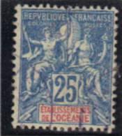 OCEANIE Y&T 1900-07 OBL. 17 - Oceania (1892-1958)