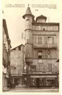 46/CPSM  - Figeac - Maison Sisiéron - Figeac