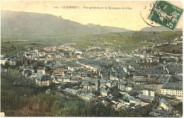 73/CPA - Chambery - Vue Générale Et La Montagne Du Chat - Chambery