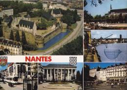 * * NANTES * * Multi-vues ( Carte Vierge ) - Nantes