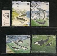 IRELAND - EIRE - 1997 FAUNA - FISHES  - Yvert # 992/5  - USED - Ireland