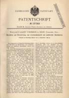 Original Patentschrift - W. Thomson In Selby , Yorkshire , 1898 , Maschine Für Linoleum - Mosaik !!! - Tools