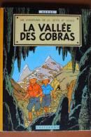 LIVRE ANCIEN BD LA VALLEE DES COBRAS LES AVENTURES DE JO ZETTE JOCKO PAR HERGE CASTERMAN B24 1958 - Hergé