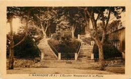 MANOSQUE L'ESCALIER MONUMENTAL DE LA PLAINE 04 - Manosque