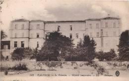 VALENCE LE VALENTIN HOPITAL MILITAIRE TEMPORAIRE ECRITE PAR MARECHAL DES LOGIS 6e REGIMENT D'ARTILLERIE 68e BATTERIE - Valence