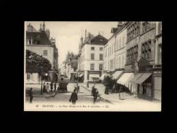 21 - BEAUNE - La Place Monge Et La Rue De Lorraine - 19 - Beaune