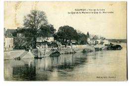 SAUMUR Quai De La Marine Et Quai Du Marronnier - Saumur