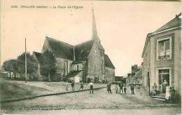 72 CHALLES La Place De L'Eglise - Francia