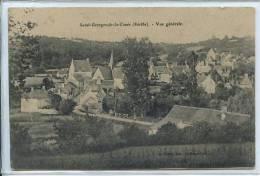 72 SAINT-GEORGES-DE-LA-COUEE * Vue Générale *  Belle CPA - France