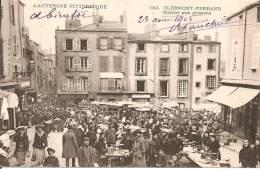 63 - CLERMONT-FERRAND,  MARCHE AUX POISSONS - ECRITE 1905 - Clermont Ferrand