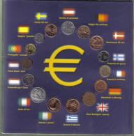 Le Ultime Monete D'uropa 15 Monete Dei Diversi Stati Primi Entrati In Euro TOPPRICE - Monete
