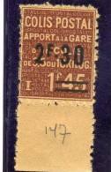 France  :année1938:colis Postal N°147* - Colis Postaux