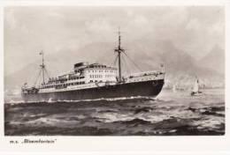 SHIPPING - M.S. BLOEMFONTEIN - Steamers