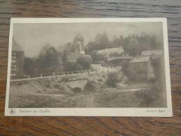 Verlaine Sur Ourthe ( Cliché A. Hallut ) Edition Du Foyer Des Orphelins / Anno 19?? ( Zie Foto Voor Details ) !! - Verlaine