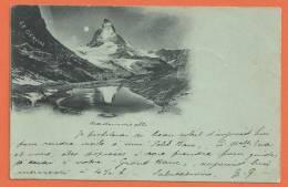 K173, Le Cervin, Précurseur, Circulée 1900 - VS Valais