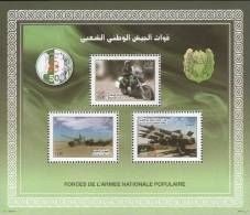 Algeria Motorcycle Bikers Gendarmerie Military - Motos
