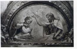 Cartolina  D´epoca     PARMA - Biblioteca - Vergine Incoronata  (Correggio) - Parma