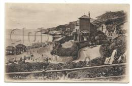 Ventnor (Royaume-Uni, Isle Of Wight) : The Side Of The Cascade In 1910 (lively). - Ventnor