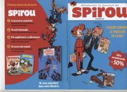 Publicite Spirou - Publicidad
