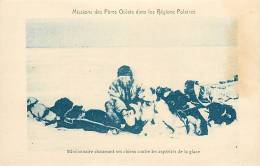 : Réf : L-12-0308 :  Missions Esquimaudes  Chiens De Traineau - Canada
