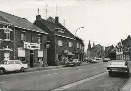Zonhoven :  Heuvenstraat  (  Old Cars  Mercedes - 2CV , .... )    GROOT FORMAAT (mutualiteit De Voorzorg ) - Zonhoven