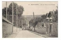 ESSONNE  /  MONTGERON  /  VUE  SUR  YERRE  ( YERRES ) ET  RUE  DE  CROSNE  /  Edit.  E. LE DELEY  ( ELD )  N° 58 - Montgeron
