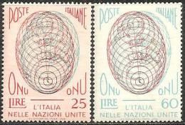 Italia 1955/59 MNH** -  Ss.784; 806/07; 821cp; 879Q; 871/72; 875/76 - 6. 1946-.. Repubblica