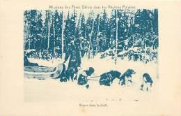 : Réf : L-12-0317 :  Missions Des Pères Oblats Dans Les Régions Polaires Chiens De Traineau - Canada