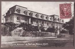 HAITI  Port Au Prince   Le Lycee National    Ht12 - Haiti
