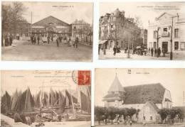 Vraiment Bon Lot De 675 Cpa De Partout En France!! - 10 Scans - Voyez Description ! - 500 Postcards Min.