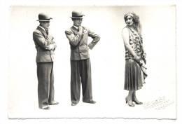 Newton Trio De Paris - Artistes Spectacle Show Artists 30s Art Deco Cabaret Théatre - Photo Aicaro à Marseille - Métiers