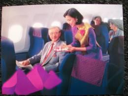 THAI Inteno Aereo COMPANY CARD - 1946-....: Modern Era