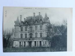 CHARLEVAL - Vue Générale Du Chateau - Frankrijk
