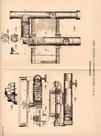 Original Patentschrift - J. Neilson In Larchmont - Manor , USA , 1902 , Entfernungsmesser , Fernrohr !!! - Optics
