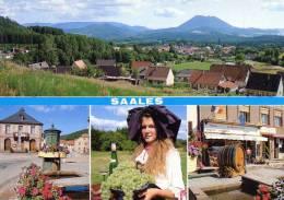 Saales(Bas/Rhin)Carte Neuve Avec 4 Vues - Autres Communes