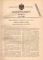 Original Patentschrift - Emmet Horton In Elmira , New-York , USA , 1902 , Maschine Für Körbe , Korb !!! - Tools