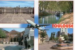 TOULOUSE LOT 4 CARTES - Toulouse
