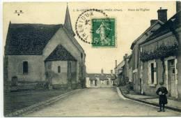 18 - St GEORGES Sur La PREE - Place De L'eglise - Autres Communes