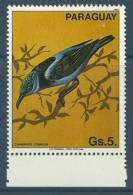 Paraguay 1983 ( Birds - Cyanerpes Cyaneus ) - MNH (**) - Paraguay