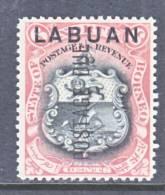 Labuan  J 5  *  ARMS - North Borneo (...-1963)