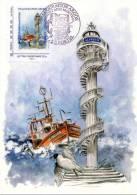 """LE PORTEL (PAS DE CALAIS) : Oblit Temp 2012 Inauguration ARGOS  Timbre """"MONTRIMBRAMOI"""" CONCORDANT Sur C.P - Berufe"""