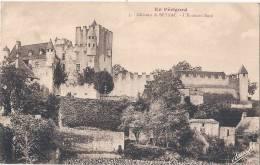 -24- Chateau Beynac Enceinte  Nord Timbrée Excellent état - France