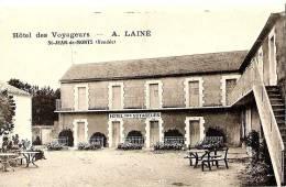 85 Saint-Jean-de-Monts Hôtel Des Voyageurs A. Lainé, CP Ancienne - Frankreich