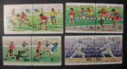 COOK ISLANDS 1976 - JUEGOS OLIMPICOS DE MONTREAL´76 - Yvert Nº 440-447 - Verano 1976: Montréal