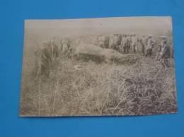 Photo Originale Ancienne Indochine VIETNAM Groupes De Chasseurs - Viêt-Nam